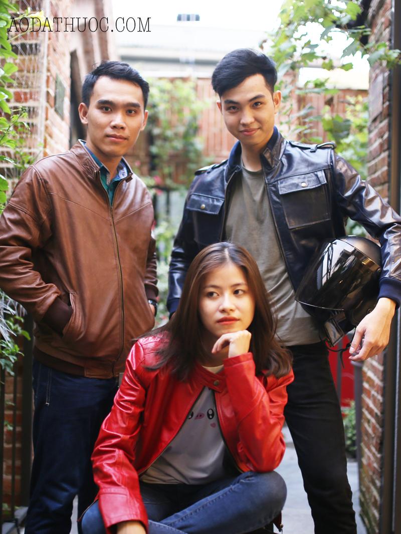 Địa chỉ may áo da thật uy tín ở Hà Nội