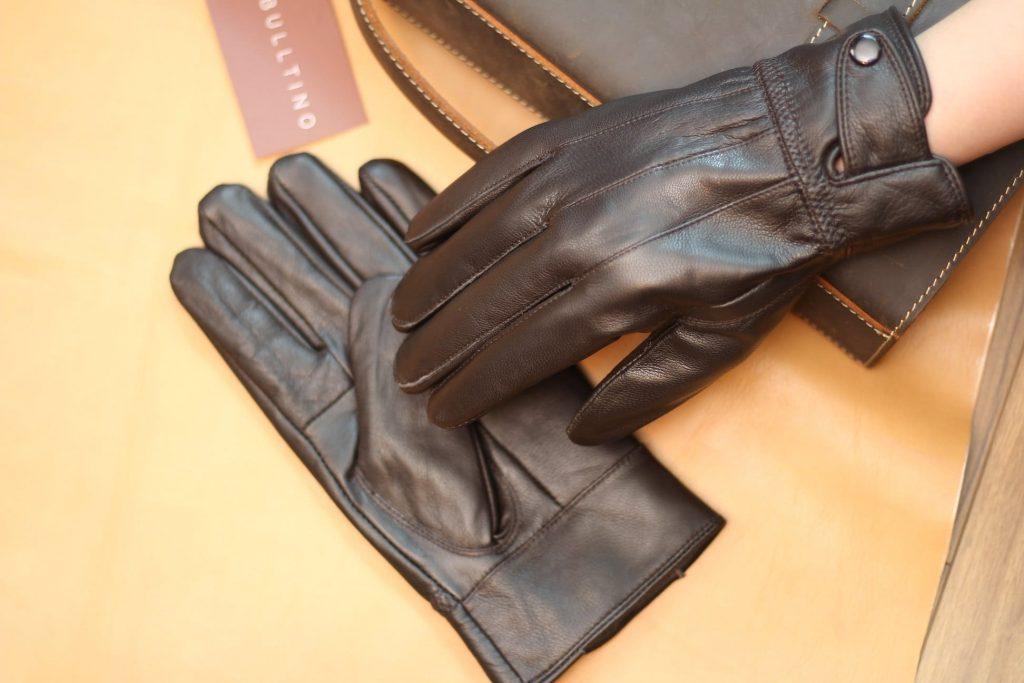 găng tay da xịn lót lông cao cấp